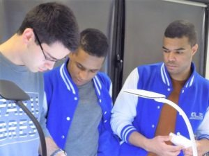 Alexandre, Ayoub et Hamza