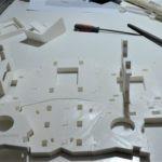 Assemblage des pièces pour la kinect