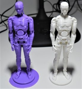 Néo en figurine imprimée avec nos imprimantes 3D